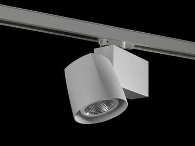 Illuminazione a binario a LED in alluminio verniciato a polvere ECLIPSO