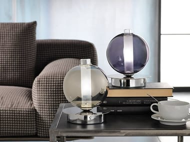 Direct light blown glass table lamp ECLISSE | Table lamp