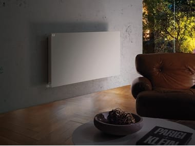 Hot-water wall-mounted decorative radiator ECO HEAT