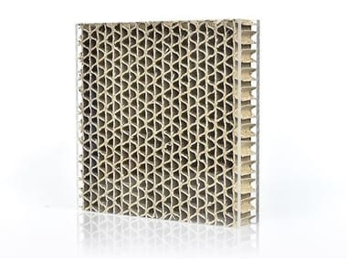 Composite material prefabricated wall panel ECOBEN WAVE™