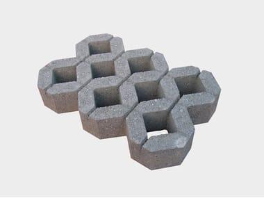 Massello autobloccante in cemento ECOBLOK