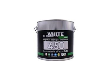 Pittura decorativa traspirante ECOMATERIA 450