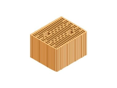 Loadbearing clay block ECOPOR® WALL 30X25X19