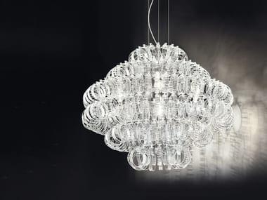 Lámpara colgante de vidrio ECOS SP 90