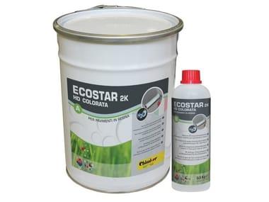 Vernice bicomponente colorata per pavimenti in resina ECOSTAR 2K HD PER RESINA COLORATA