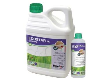 Vernice poliuretanica bicomponente all'acqua per parquet ECOSTAR 2K NATURAL (A+B)