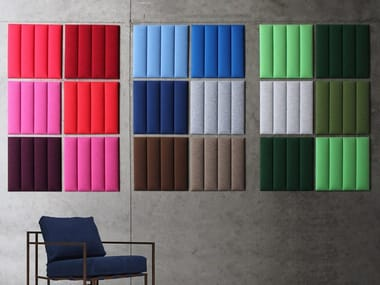 Polyester fibre Decorative acoustic panel ECOWALL | Decorative acoustic panel