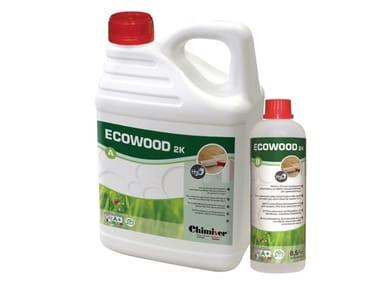 Vernice poliuretanica bicomponente all'acqua per parquet ECOWOOD 2K (A+B)