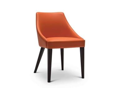 Upholstered fabric chair EDGAR 268