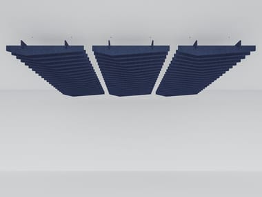 Recycled plastic acoustic baffles EDGE