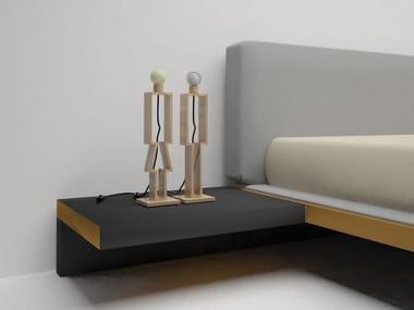 Natural stone bedside lamp EDI&SON