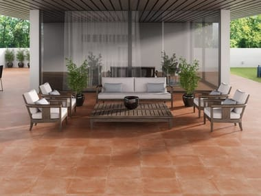 Porcelain stoneware wall/floor tiles with stone effect EDICER SANTANA