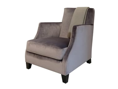 Armchair with armrests EDO | Armchair with armrests
