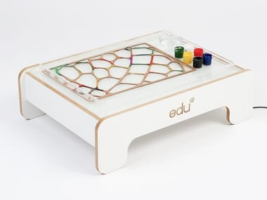 Plywood game / Kids table EDU2 LIGHT PLAY TABLE