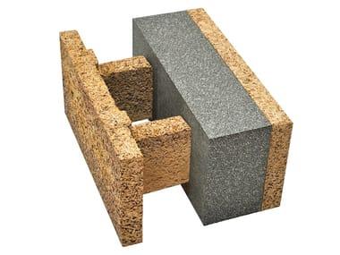 Blocco acustico in legno-cemento EGH 38/14