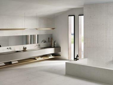 Porcelain stoneware wall/floor tiles with stone effect EGO AVORIO