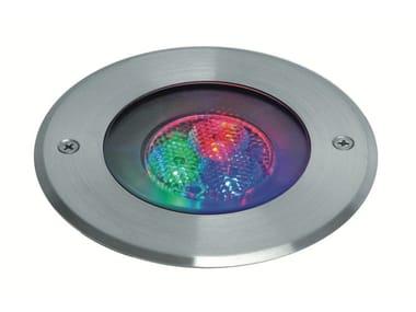 Segnapasso a LED in acciaio inox con sistema RGB EGO F.903