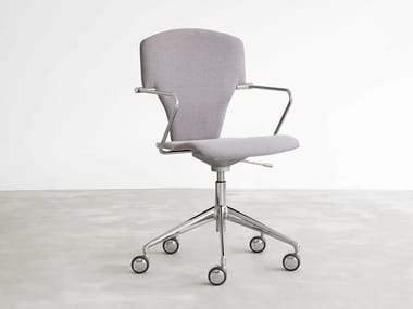 Task chair with 5-Spoke base with casters EGOA | Task chair