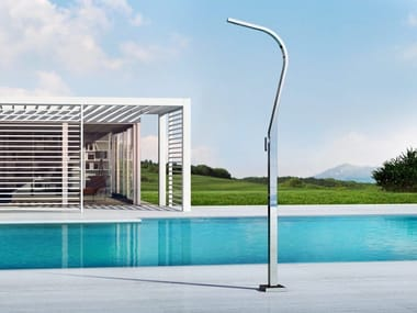 Stainless steel outdoor shower EIDOTHEA