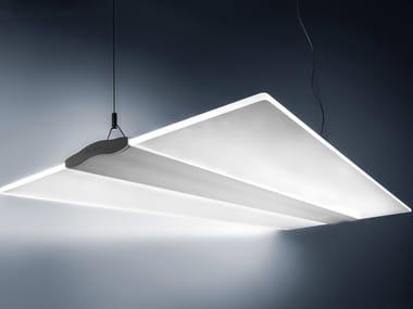 LED direct light aluminium pendant lamp EIFFEL | Pendant lamp