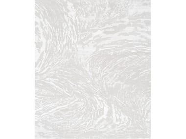 Handmade rectangular rug EIGHT WHITE