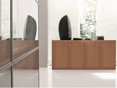 Low office storage unit with castors EKO   Low office storage unit
