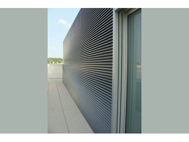 Griglie frangisole in alluminio EKU® GRID | Solar shading