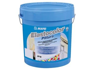 Pittura elastomerica protettiva antifessurazione ELASTOCOLOR PITTURA