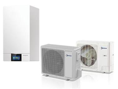 Air to water steel heat pump ELECTA-ECOS-B