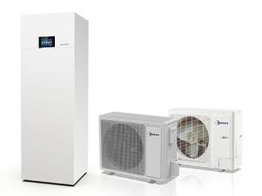 Air to water steel heat pump ELECTA-ECOS-T