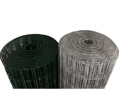 Rete metallica in acciaio zincato e/o in pvc RETE ELETTROSALDATA ZINCATA & PVC