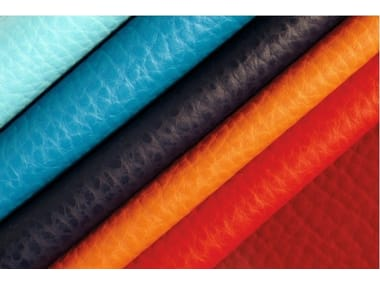 Solid-color fire retardant Eco-leather fabric ELEFANT
