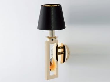 Lampada da parete a luce indiretta con cristalli ELEGANCE | Lampada da parete