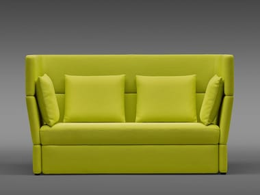 High-back fabric sofa ELEMENT EVO | High-back sofa