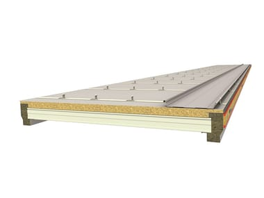 Insulated metal panel for roof ELEMENT ROOF