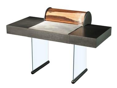 PC oak secretary desk with drawers ROLL | Secretary desk