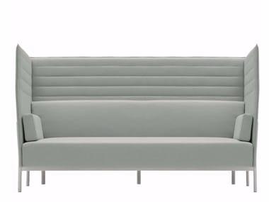 Canapé 3 places en tissu avec dossier haut ELEVEN HIGH BACK - 864
