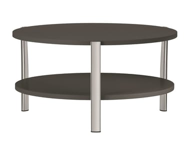 Table basse ronde en MDF ELEVEN TABLE DOUBLE - 954 | Table basse ronde