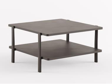 Table basse carrée en MDF ELEVEN TABLE DOUBLE - 954 | Table basse carrée
