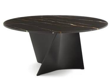 Tavolo rotondo in marmo ELICA 2575 | Tavolo in marmo