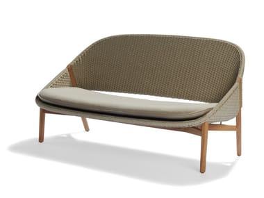 2 seater Tricord® garden sofa ELIO | Garden sofa