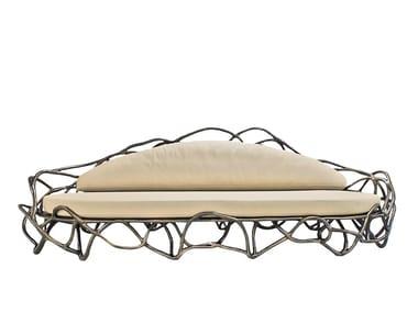 6 seater fiberglass sofa ELIPSE K1061