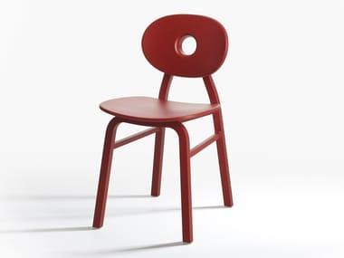 Technopolymer chair ELIPSE