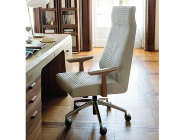 High-back fabric executive chair ELIS