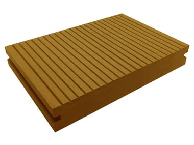 Engineered wood outdoor floor tiles / decking ELITE SAND
