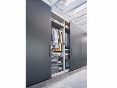 Wardrobe with sliding doors custom ELLEVI | Wardrobe with sliding doors