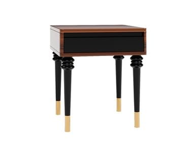 Lacquered bedside table ELLIOT