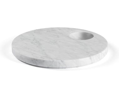 Round marble tray ELLIPSE | Tray