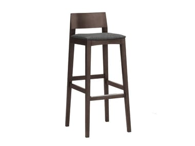 High barstool with footrest ELSA | CONTRACT | High stool