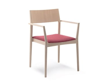 Stackable chair with armrests ELSA | HEALTH & CARE | Stackable chair